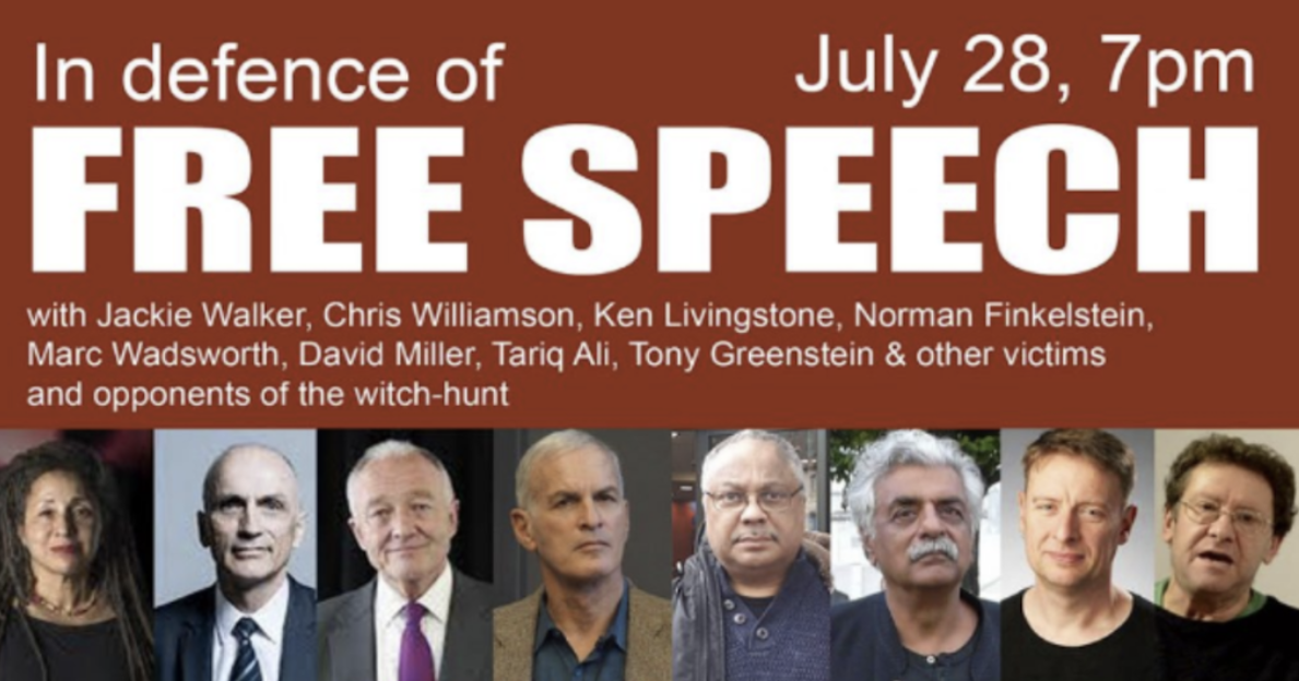 The far left event that attacked CST and praised David Irving – Blog – CST  – Protecting Our Jewish Community
